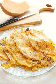 zucca al forno, antipasto o contorno saporito