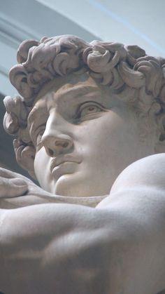 ULTRA /// vaporwave / cyberpunk / glitch / cyberpunk / aesthetic / wallpaper / v. Roman Sculpture, Art Sculpture, Michelangelo Sculpture, Baroque Sculpture, Stone Sculptures, Aesthetic Art, Aesthetic Pictures, Aesthetic Statue, Sculpture Romaine