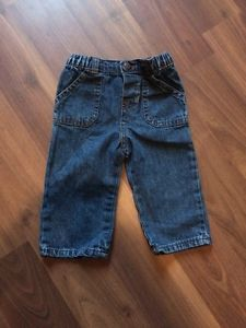 Circo Baby Toddler Girl Blue Jean Jeans Pants 9 Months Elastic Waist | eBay