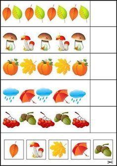 Autismo. Schede didattiche per rendere la Matematica divertente   autismocomehofatto Fall Preschool Activities, Preschool Centers, Kindergarten Math Worksheets, Preschool Education, Preschool Lessons, Learning Activities, Toddler Activities, Kids Learning, Dyslexia Activities