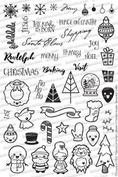 Christmas Doodles (Pre-Order)