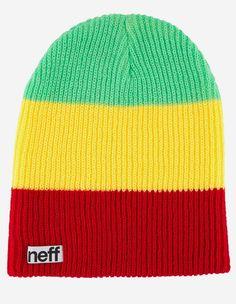 Neff - Trio Beanie rasta