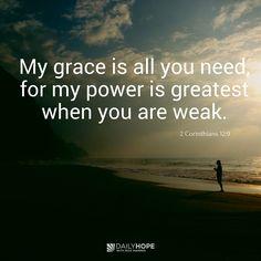 Through God's Grace, Your Pain Has a Purpose