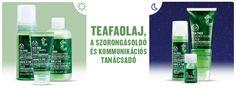 Teafaolajos arcápolási rutin zsíros, problémás bőrre