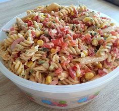 Chefkoch.de Rezept: Sommer Nudelsalat