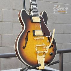 #Gibson CS-356 Vintage Sunburst with Bigsby.