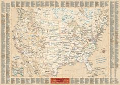 """Atlas of true names"" by cartographers Stephan Hormes and Silke Peust uses #etymology to give an unusual insight into familiar geographical names of #USA (or United States of the Home Ruler)..."