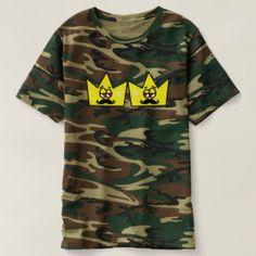 Gay Rei Coroa King Crown Camiseta