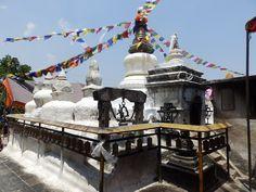 One of the Kathmandu valley's most famous and beautiful stupas at Namo Buddha