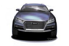 Audi two-door crossover concept - Design Sketch