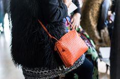 Bottega Veneta Intrecciato Zip Around Crossbody Bag