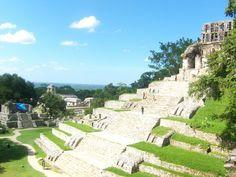 Mi país. Palenque, Chiapas. México