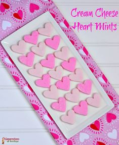 Cream Cheese Heart Mints Recipe – Perfect Valentines Day Candy Recipe