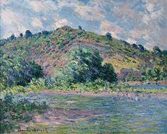 The Banks of the Seine at Port-Villez by Claude Monet, c1885