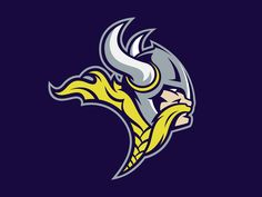 Minnesota Vikings Rebrand Concept on Behance - American Logo Sport Theme