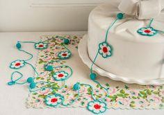crochet: Flower and Bauble Crochet Garland | Bobbi Lewin