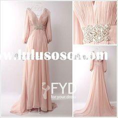Google Image Result for http://www.lulusoso.com/upload/20120507/Long_Sleeves_V_neck_Chiffon_Bridesmaid_Dress.jpg