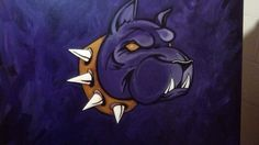 Que Dog....Creation of Purple Diary Arts