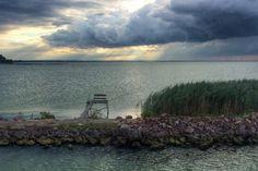 Balatoni szürkeségek - a nap képe