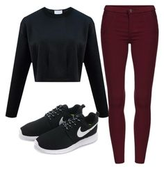 """Sans titre #22"" by leonorabuffo on Polyvore featuring mode et NIKE"