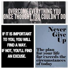 Always keep going