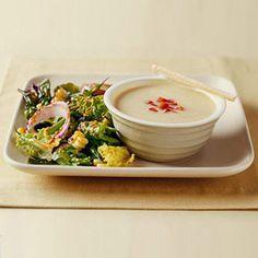 Cheddar Soup; 4 pts+/per .75 c serving; 5 Fat, 13 Carb, 2 Fiber, 11 Pro
