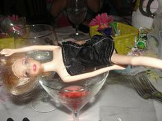 "pictures of ""drunk Barbie"""
