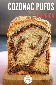 Romanian Food, Sweet Cakes, Beignets, Nutella, Pesto, Banana Bread, Food And Drink, Cooking Recipes, Sweets