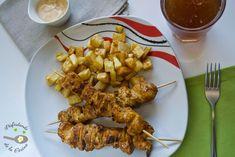 Deliciosa receta de Pinchos morunos caseros de Disfrutando de la Cocina