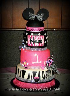 Minnie Mouse Birthday Cake 2013