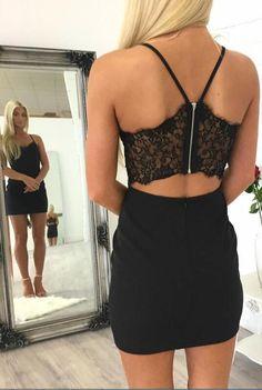 little black dress, short homecoming dress, black homecoming dress, 2017 homecoming dress, tight homecoming dress, black short cocktail dress