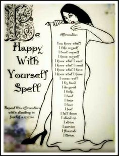Make a resolution with yourself... be happy with yourself... just the way you are!