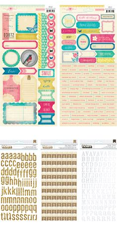Crate Paper Maggie Holmes Stickers and Thickers