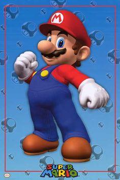 Imaginus Posters Nintendo Super Mario Video Game Poster 16 x 20 inches Super Mario Brothers, Super Mario Bros, Mario Video Game, Video Games, Advance Wars, Gaming Posters, Video Game Posters, Nintendo Characters, Sale Poster