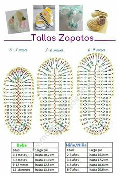 80 Patrones para hacer zapatitos, botines y zapatillas de bebés en crochet (free patterns crochet sandals babies) This is a super easy and fast step by step tutorial that will teach you how to crochet baby sandals - Salvabrani Hilaria crochet projects: C Booties Crochet, Converse En Crochet, Crochet Baby Sandals, Crochet Baby Boots, Crochet Baby Clothes, Crochet Slippers, Knitted Baby, Crochet Hats, Knit Baby Booties