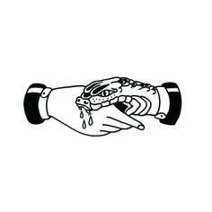 bite trust snake traditional tattoo snake bites trust no one snake tattoo traditional tatto flash Hand Tattoos, Neue Tattoos, Arm Tattoo, Body Art Tattoos, Tatoos, Chest Tattoo, Flower Tattoos, Trendy Tattoos, Small Tattoos