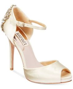 Badgley Mischka Dawn d'Orsay Evening Sandals
