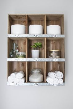 Cubbies make for both function and style. #decorideas #renovation