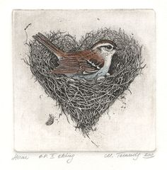 Fine Art Etchings by Marina Terauds
