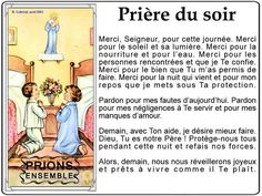 Prières du Soir What Is Spirituality, Spiritus, Catholic Prayers, God First, Names Of Jesus, Jesus Loves, Faith Quotes, Spiritual Quotes, Affirmations