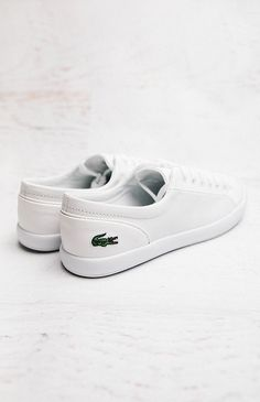 Lacoste Lancelle BL 1 Sneaker - White from peppermayo.com
