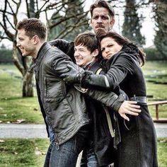 Awesome Regina Robin Henry David/Charming (Lana Sean Jared Josh) Once S5B E21 #LastRites airs Sunday 5-8-16
