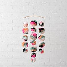 Pom Pom Mobile  -make?(in different colors)