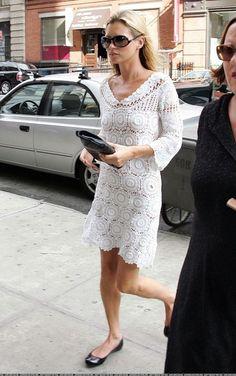 Crinochet: Kate Moss Dress