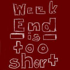 Weekend is too short... Enjoy it!!! #BocaGrande #Barcelona