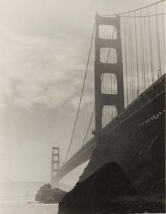 Golden Gate Bridge from Sausalito, ca. 1925