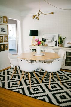 Interior Design: Gorgeous Dining Room by Hello Lidy - Entertain Apartment Interior Design, Interior Styling, Interior Decorating, Decorating Ideas, Decor Ideas, Craft Ideas, Ideas Hogar, Eclectic Decor, Dining Room Design