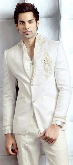 Soma Sengupta Fashion for the Indian Man- Cool in White!