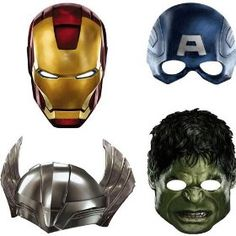 Avengers Mask made by Hallmark!  Get ready for #TheAvengersEvent