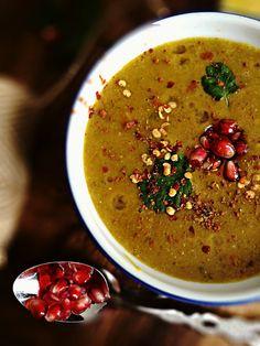 Red Lentil Stew / Moroccan Harira (vegetarian version) - Diabetes Friendly Thursdays - simplyvegetarian777